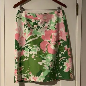Talbots Printed floral skirt